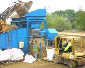Weighing And Big Bagging Equipment For Aggregate Recycled