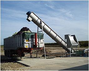 Bulk Waste Compost Feeders Shredding Scraper Chains